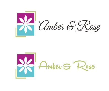 Logo Design by ronny - Entry No. 1 in the Logo Design Contest Creative Logo Design for Amber & Rose.