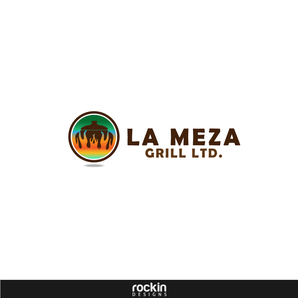 Logo Design by rockin - Entry No. 13 in the Logo Design Contest Inspiring Logo Design for La Meza Grill Ltd..