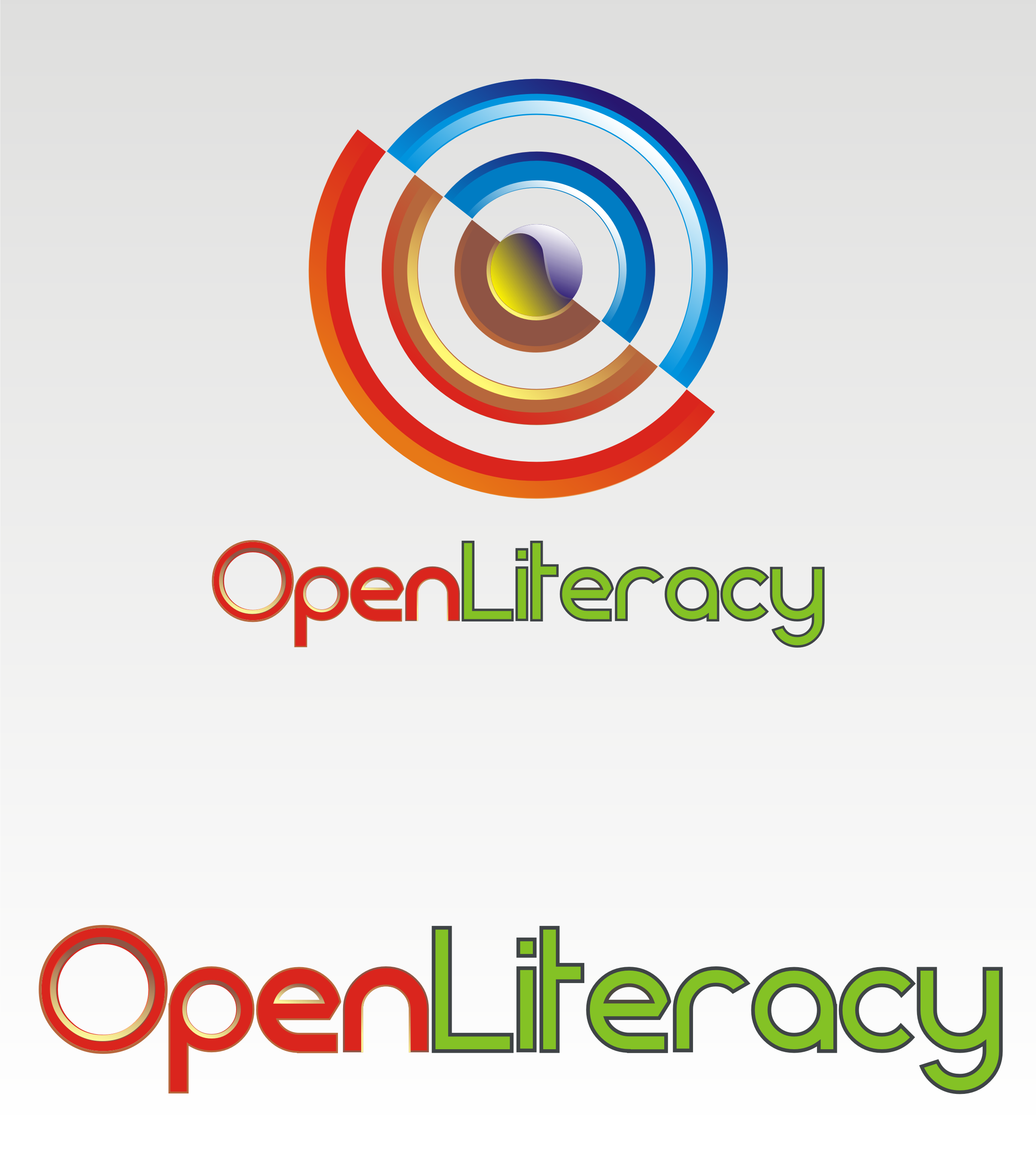 Logo Design by Private User - Entry No. 71 in the Logo Design Contest Inspiring Logo Design for OpenLiteracy.