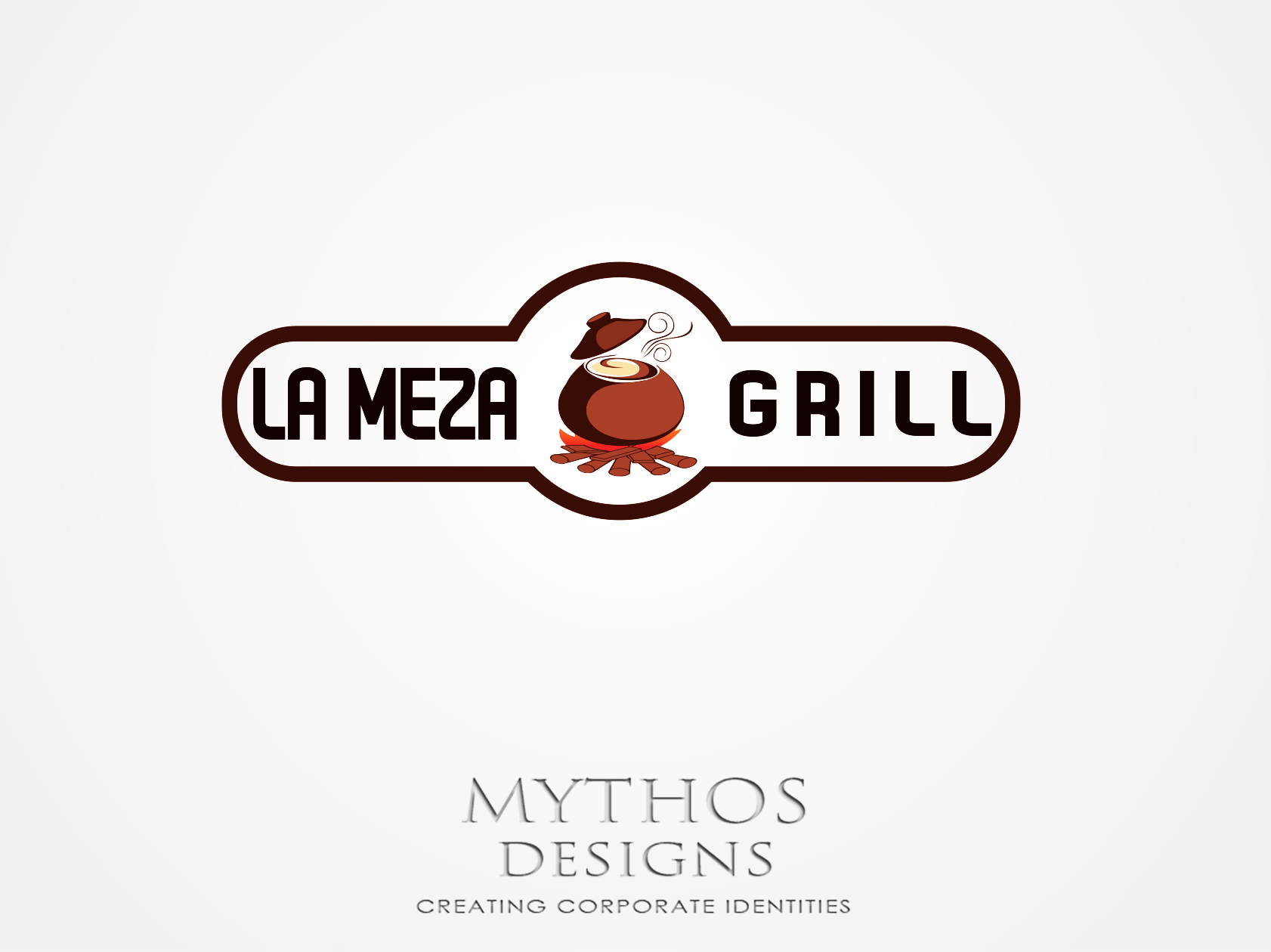 Logo Design by Mythos Designs - Entry No. 15 in the Logo Design Contest Inspiring Logo Design for La Meza Grill Ltd..