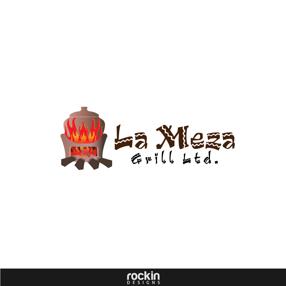 Logo Design by rockin - Entry No. 17 in the Logo Design Contest Inspiring Logo Design for La Meza Grill Ltd..