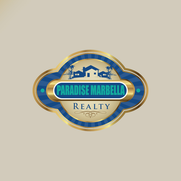 Logo Design by lagalag - Entry No. 57 in the Logo Design Contest Captivating Logo Design for Paradise Marbella Realty.