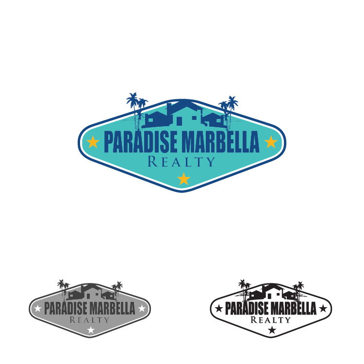 Logo Design by lagalag - Entry No. 58 in the Logo Design Contest Captivating Logo Design for Paradise Marbella Realty.