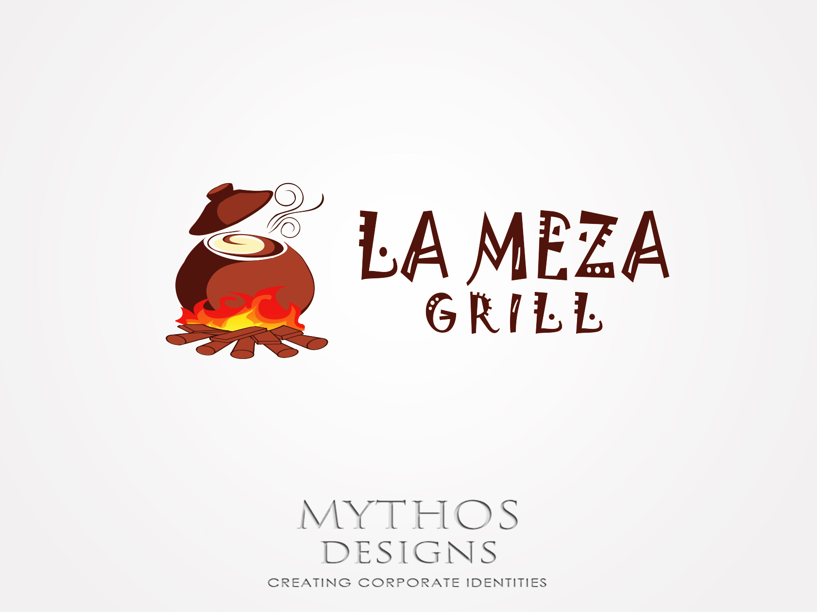 Logo Design by Mythos Designs - Entry No. 26 in the Logo Design Contest Inspiring Logo Design for La Meza Grill Ltd..