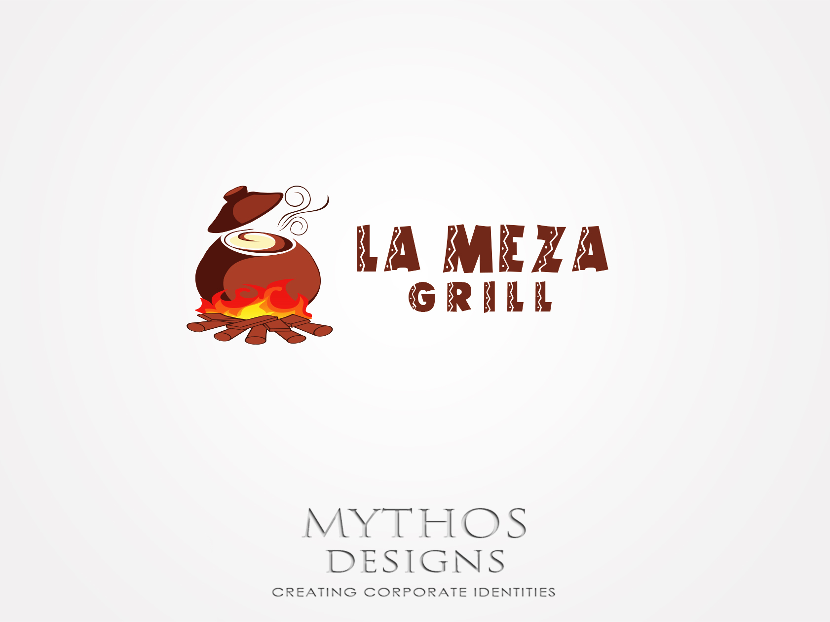 Logo Design by Mythos Designs - Entry No. 27 in the Logo Design Contest Inspiring Logo Design for La Meza Grill Ltd..