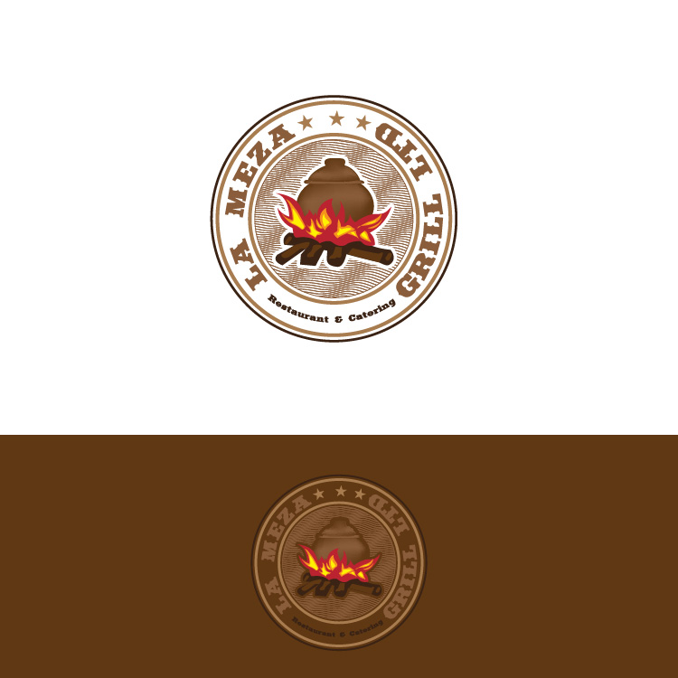 Logo Design by lagalag - Entry No. 29 in the Logo Design Contest Inspiring Logo Design for La Meza Grill Ltd..