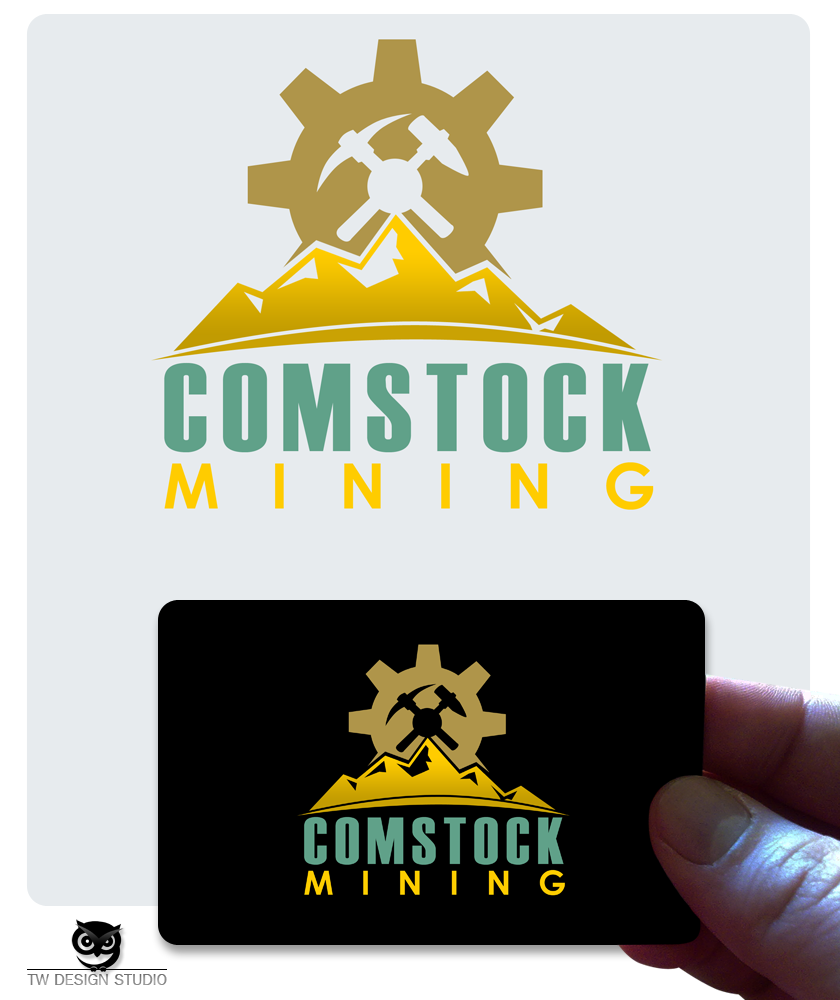 Logo Design by Private User - Entry No. 78 in the Logo Design Contest Captivating Logo Design for Comstock Mining, Inc..