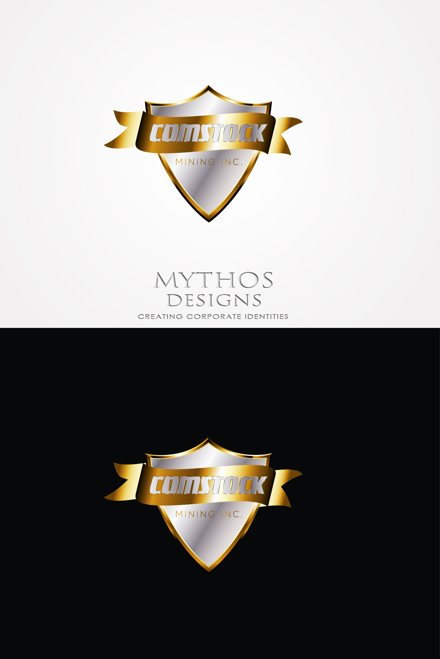 Logo Design by Mythos Designs - Entry No. 81 in the Logo Design Contest Captivating Logo Design for Comstock Mining, Inc..