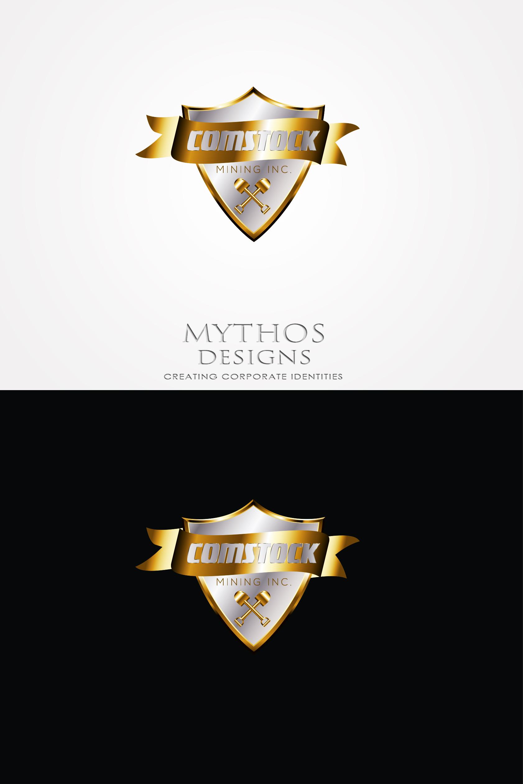 Logo Design by Mythos Designs - Entry No. 82 in the Logo Design Contest Captivating Logo Design for Comstock Mining, Inc..
