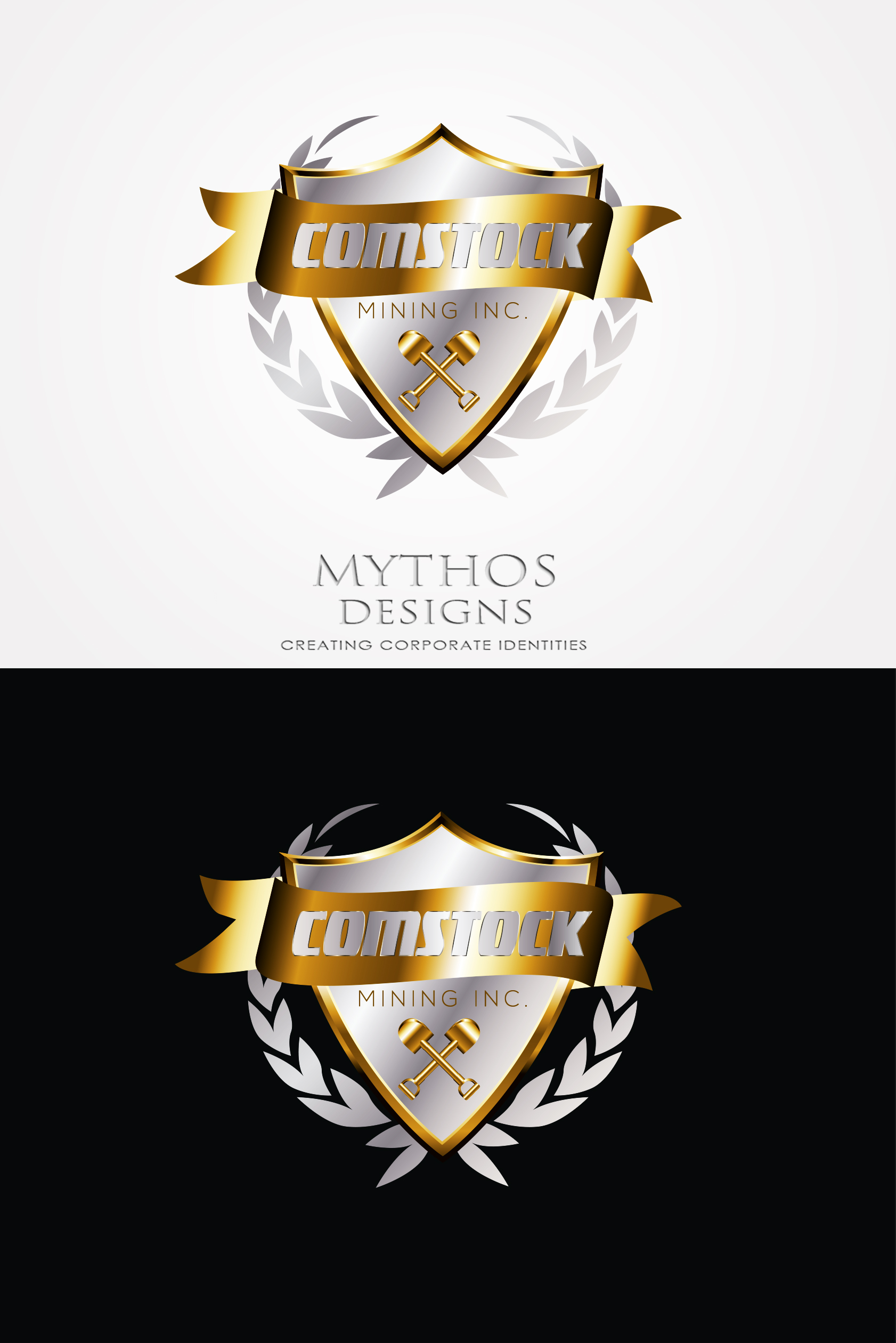 Logo Design by Mythos Designs - Entry No. 83 in the Logo Design Contest Captivating Logo Design for Comstock Mining, Inc..