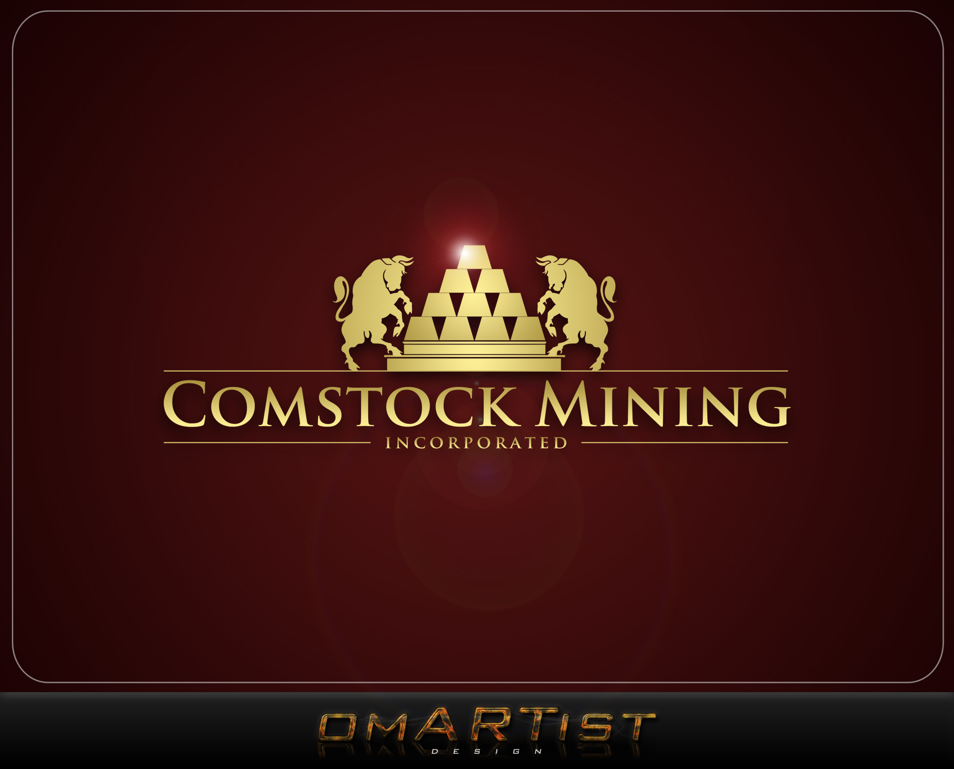 Logo Design by omARTist - Entry No. 85 in the Logo Design Contest Captivating Logo Design for Comstock Mining, Inc..