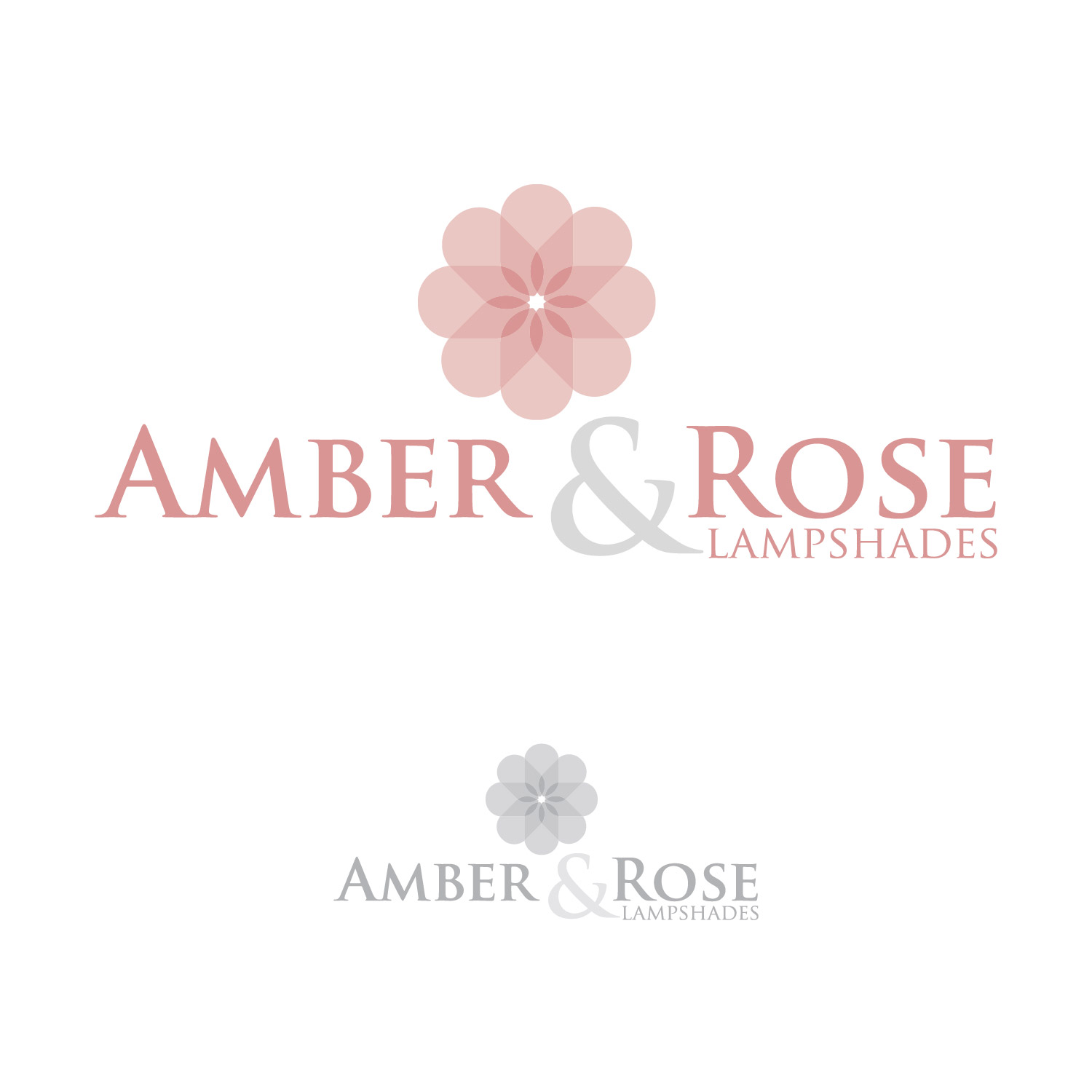 Logo Design by lagalag - Entry No. 5 in the Logo Design Contest Creative Logo Design for Amber & Rose.