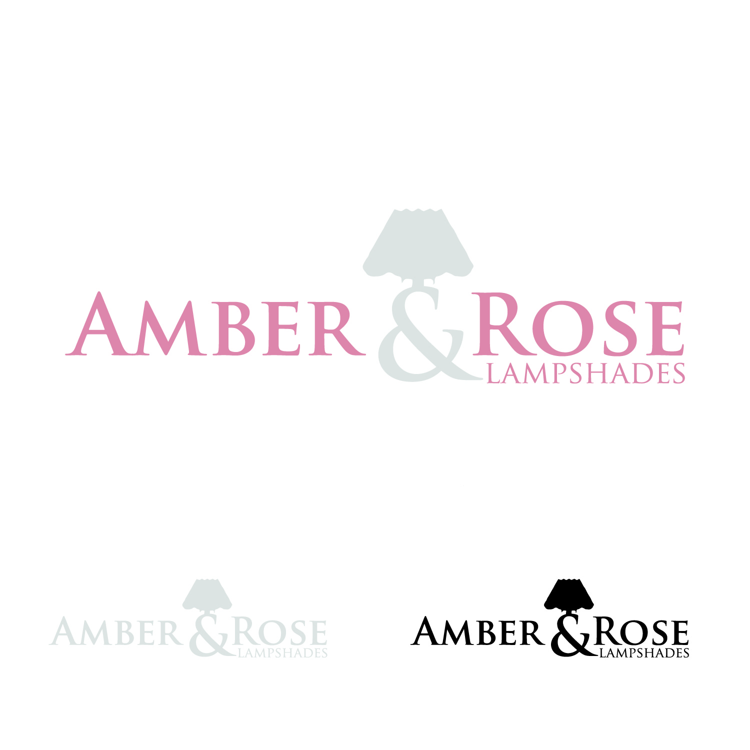 Logo Design by lagalag - Entry No. 6 in the Logo Design Contest Creative Logo Design for Amber & Rose.