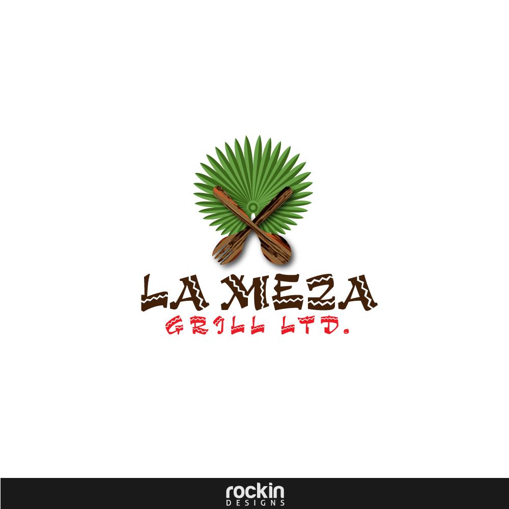 Logo Design by rockin - Entry No. 31 in the Logo Design Contest Inspiring Logo Design for La Meza Grill Ltd..