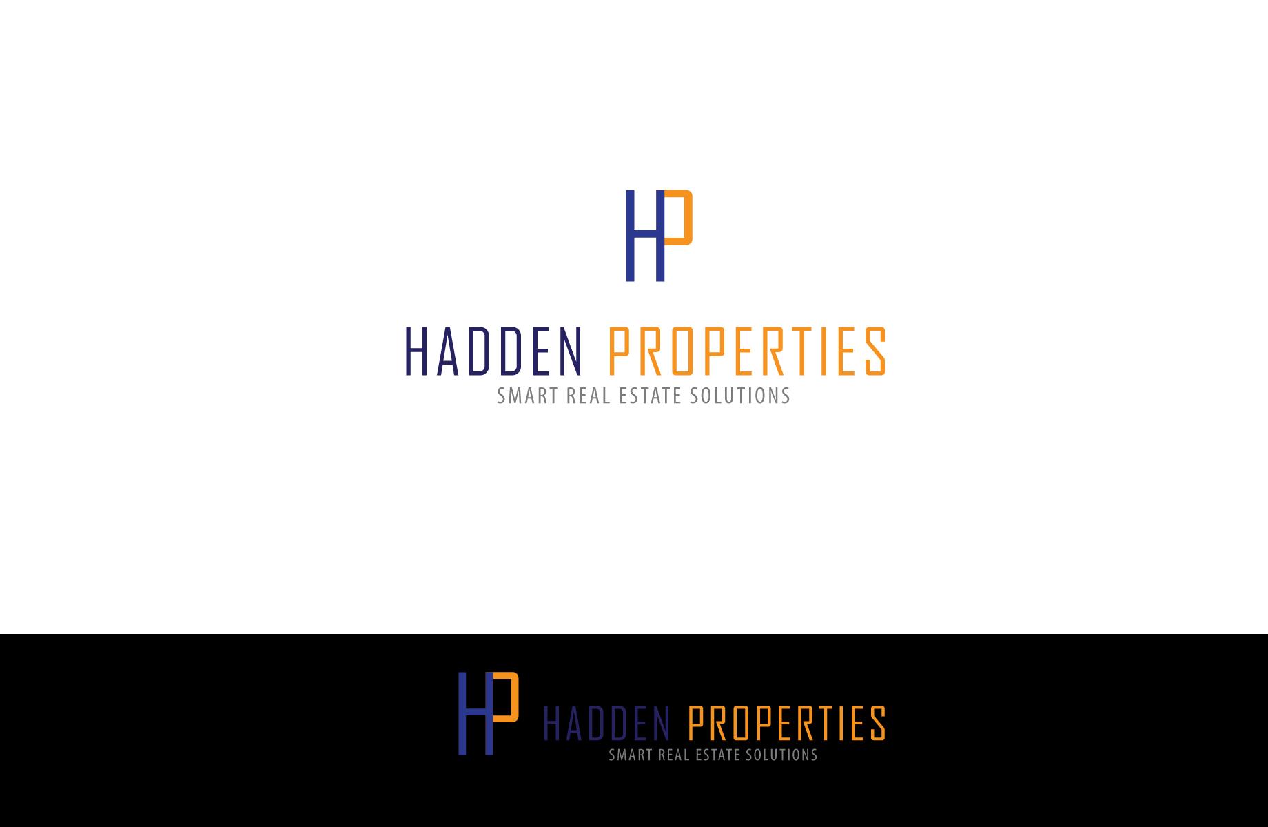 Logo Design by Jan Chua - Entry No. 35 in the Logo Design Contest Artistic Logo Design for Hadden Properties.