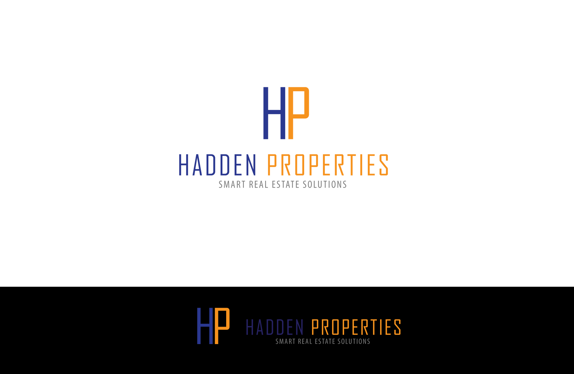 Logo Design by Jan Chua - Entry No. 36 in the Logo Design Contest Artistic Logo Design for Hadden Properties.