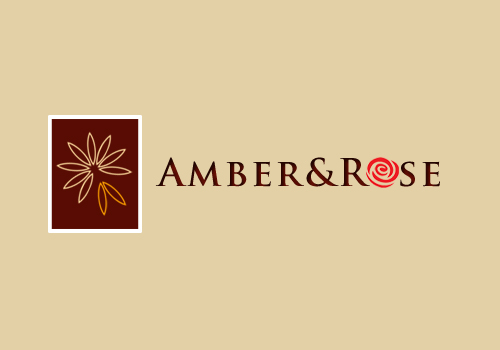 Logo Design by Crystal Desizns - Entry No. 7 in the Logo Design Contest Creative Logo Design for Amber & Rose.