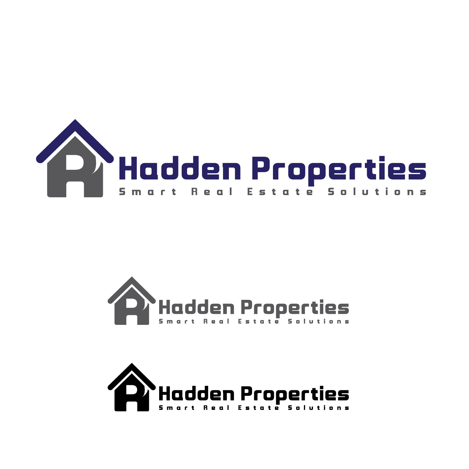 Logo Design by lagalag - Entry No. 38 in the Logo Design Contest Artistic Logo Design for Hadden Properties.