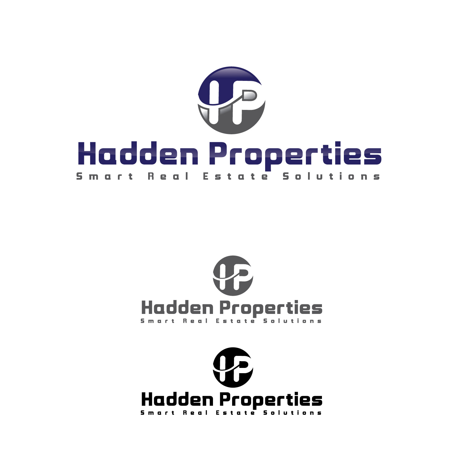 Logo Design by lagalag - Entry No. 39 in the Logo Design Contest Artistic Logo Design for Hadden Properties.
