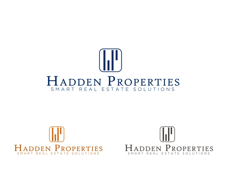 Logo Design by Juan_Kata - Entry No. 40 in the Logo Design Contest Artistic Logo Design for Hadden Properties.