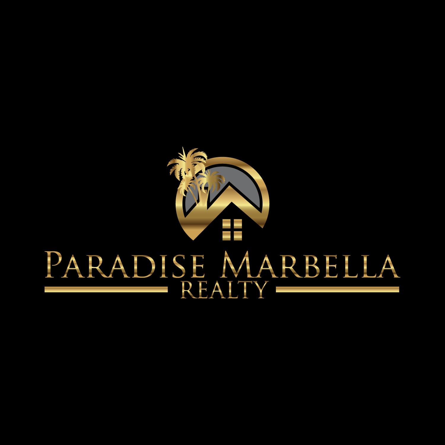 Logo Design by lagalag - Entry No. 77 in the Logo Design Contest Captivating Logo Design for Paradise Marbella Realty.