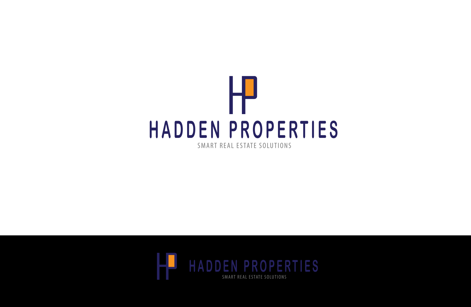 Logo Design by Jan Chua - Entry No. 48 in the Logo Design Contest Artistic Logo Design for Hadden Properties.