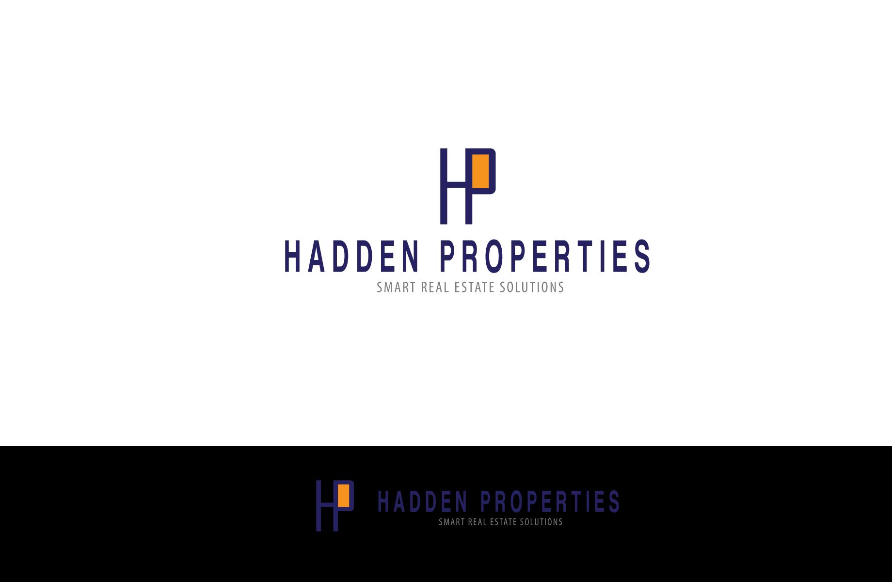 Logo Design by Jan Chua - Entry No. 49 in the Logo Design Contest Artistic Logo Design for Hadden Properties.
