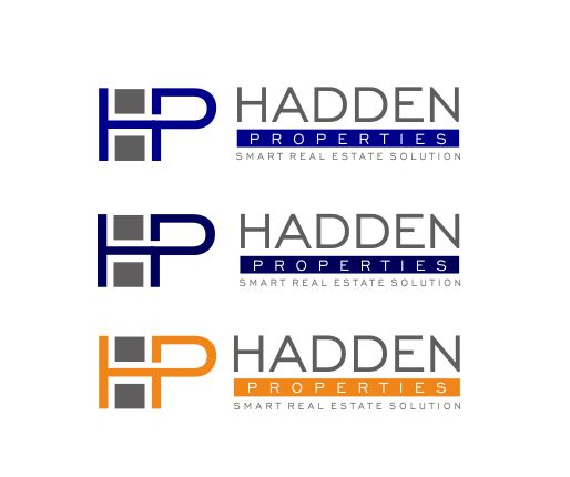 Logo Design by ronny - Entry No. 50 in the Logo Design Contest Artistic Logo Design for Hadden Properties.