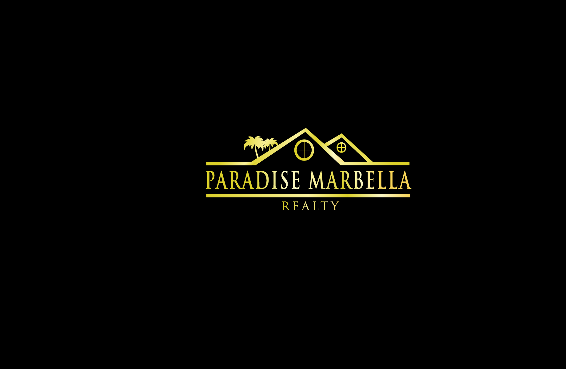 Logo Design by Jan Chua - Entry No. 80 in the Logo Design Contest Captivating Logo Design for Paradise Marbella Realty.