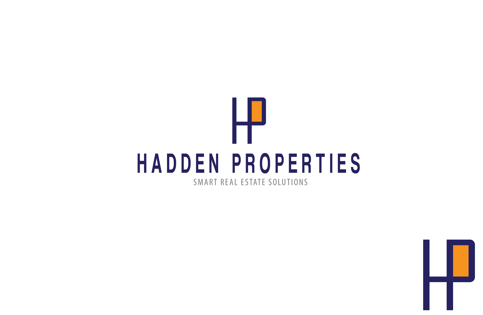 Logo Design by Jan Chua - Entry No. 51 in the Logo Design Contest Artistic Logo Design for Hadden Properties.