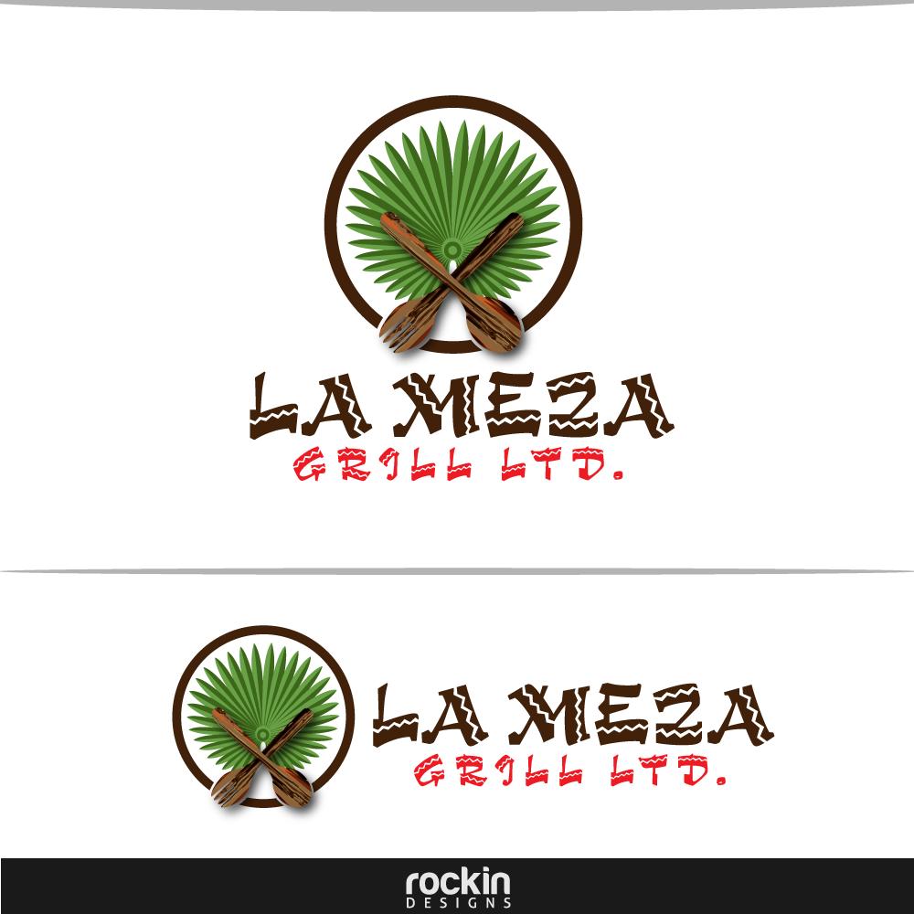 Logo Design by rockin - Entry No. 32 in the Logo Design Contest Inspiring Logo Design for La Meza Grill Ltd..