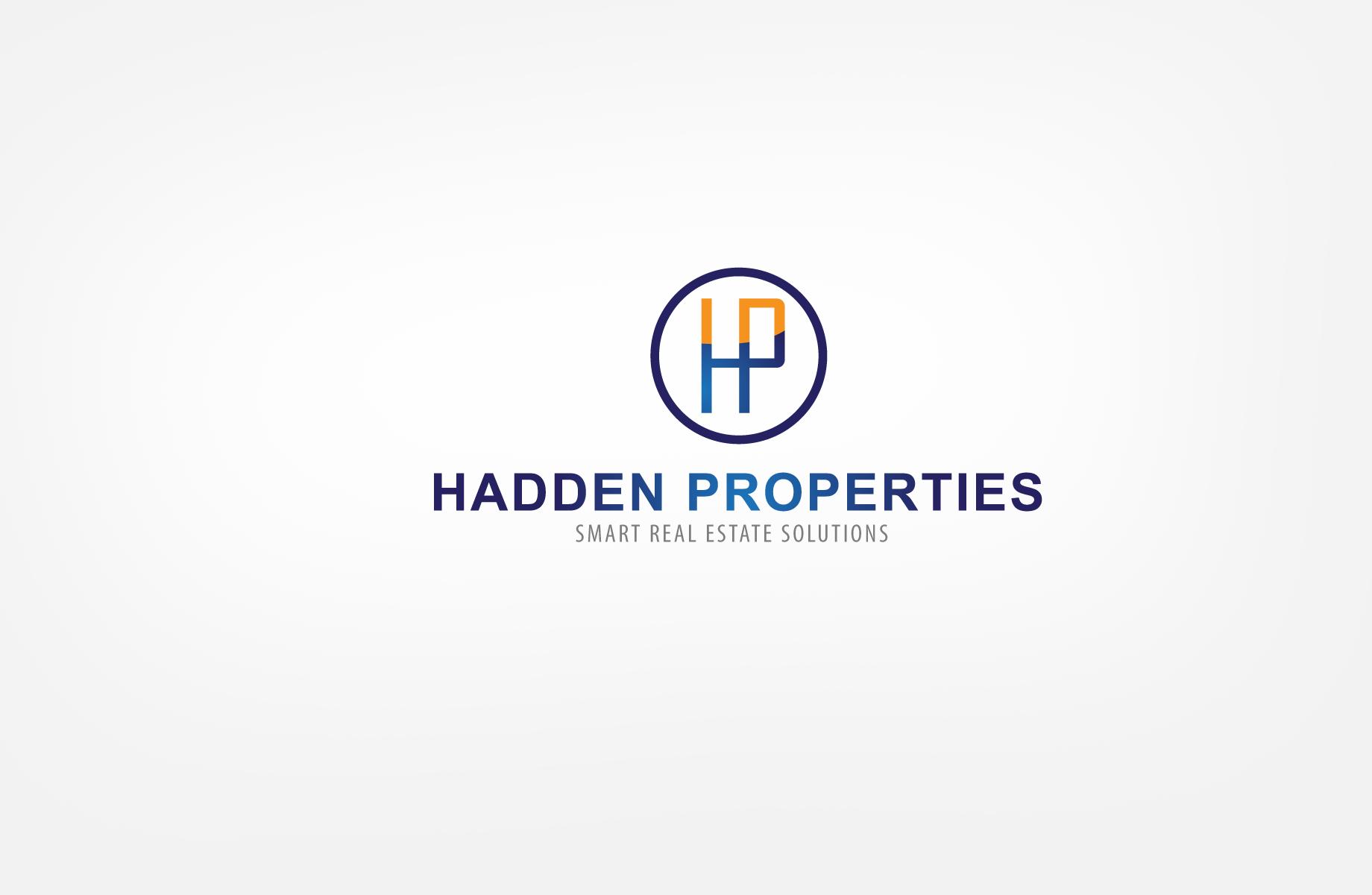 Logo Design by Jan Chua - Entry No. 56 in the Logo Design Contest Artistic Logo Design for Hadden Properties.