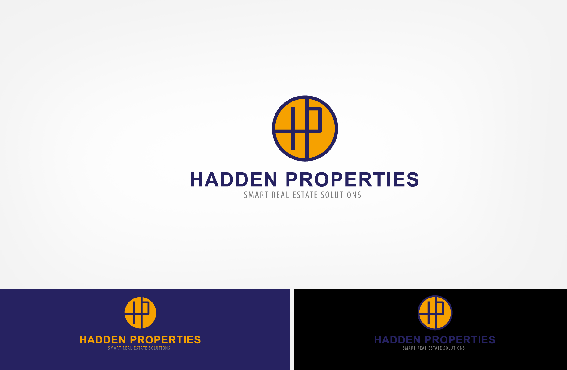 Logo Design by Jan Chua - Entry No. 58 in the Logo Design Contest Artistic Logo Design for Hadden Properties.