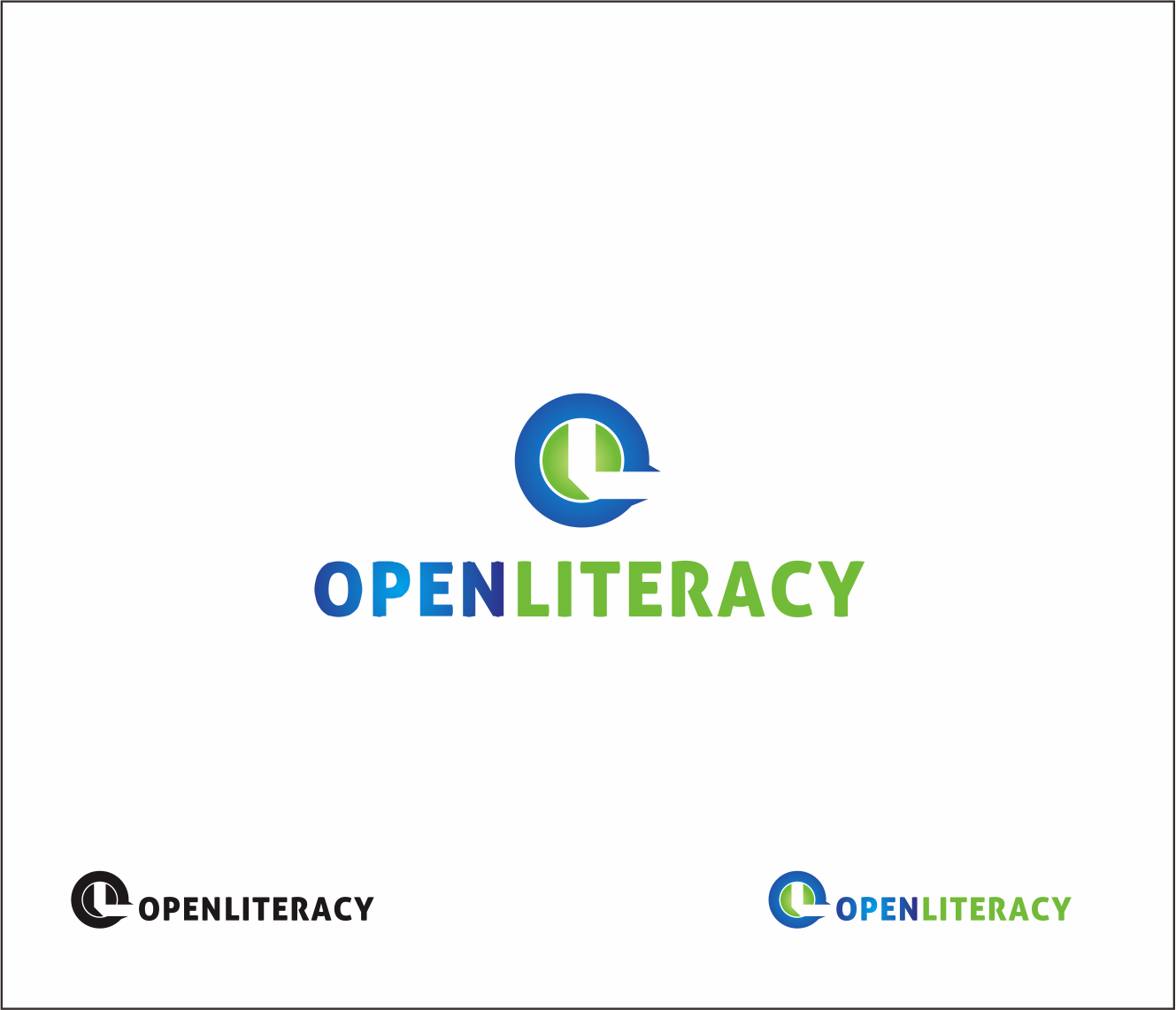 Logo Design by Armada Jamaluddin - Entry No. 88 in the Logo Design Contest Inspiring Logo Design for OpenLiteracy.