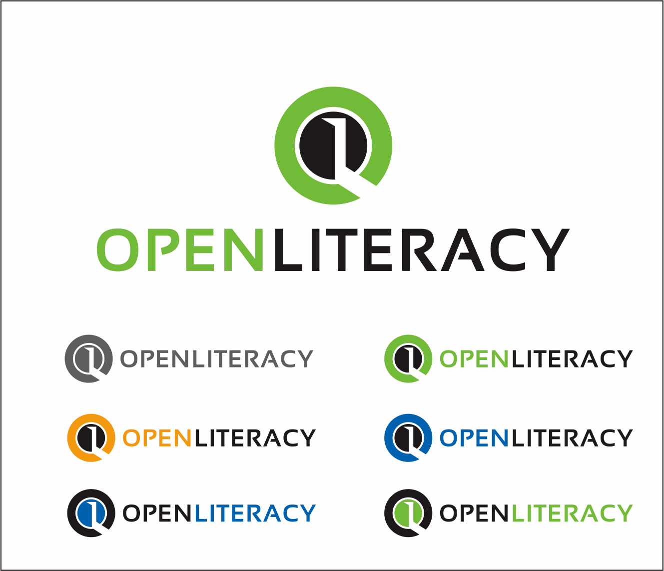 Logo Design by Armada Jamaluddin - Entry No. 89 in the Logo Design Contest Inspiring Logo Design for OpenLiteracy.