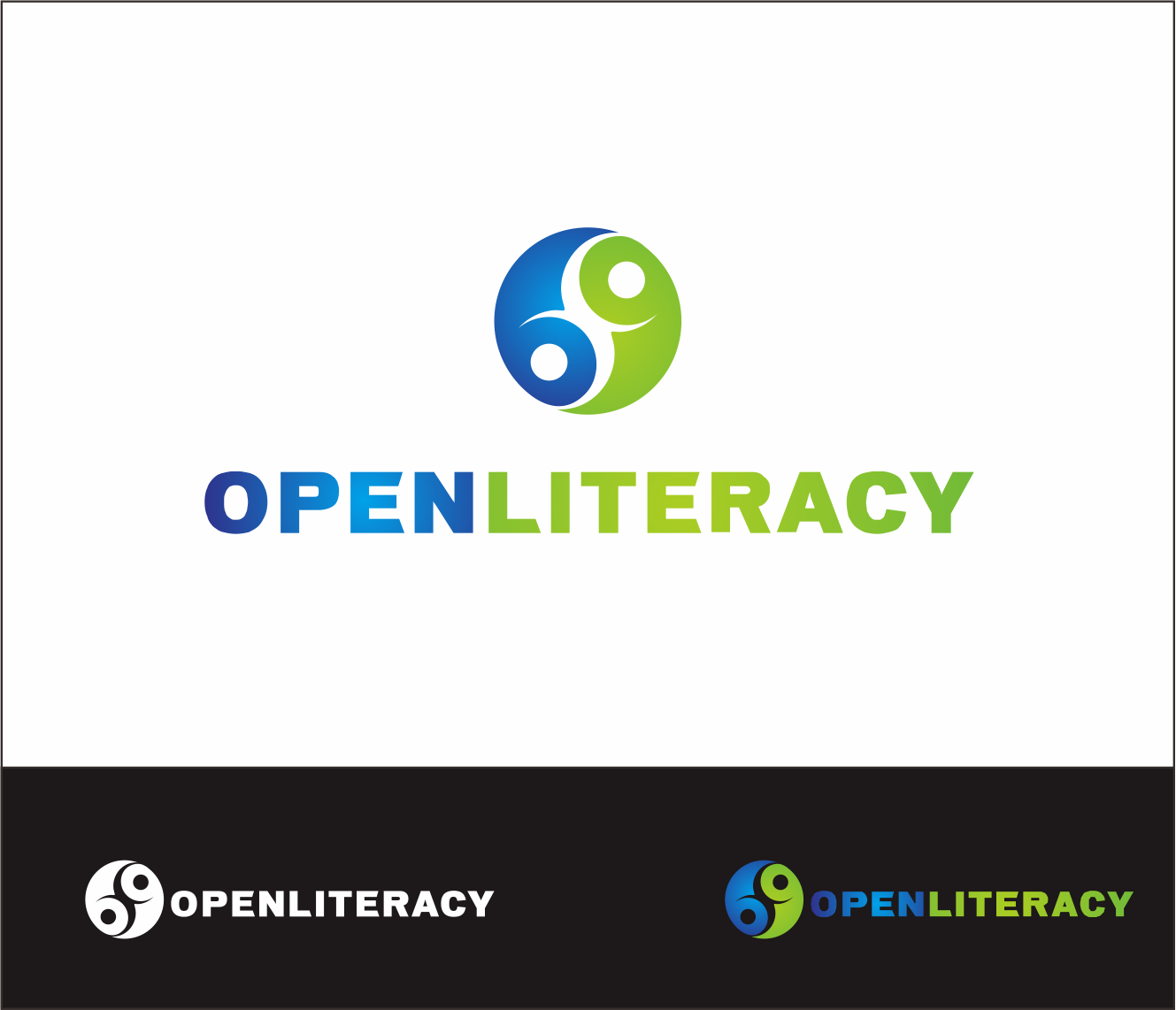 Logo Design by Armada Jamaluddin - Entry No. 92 in the Logo Design Contest Inspiring Logo Design for OpenLiteracy.