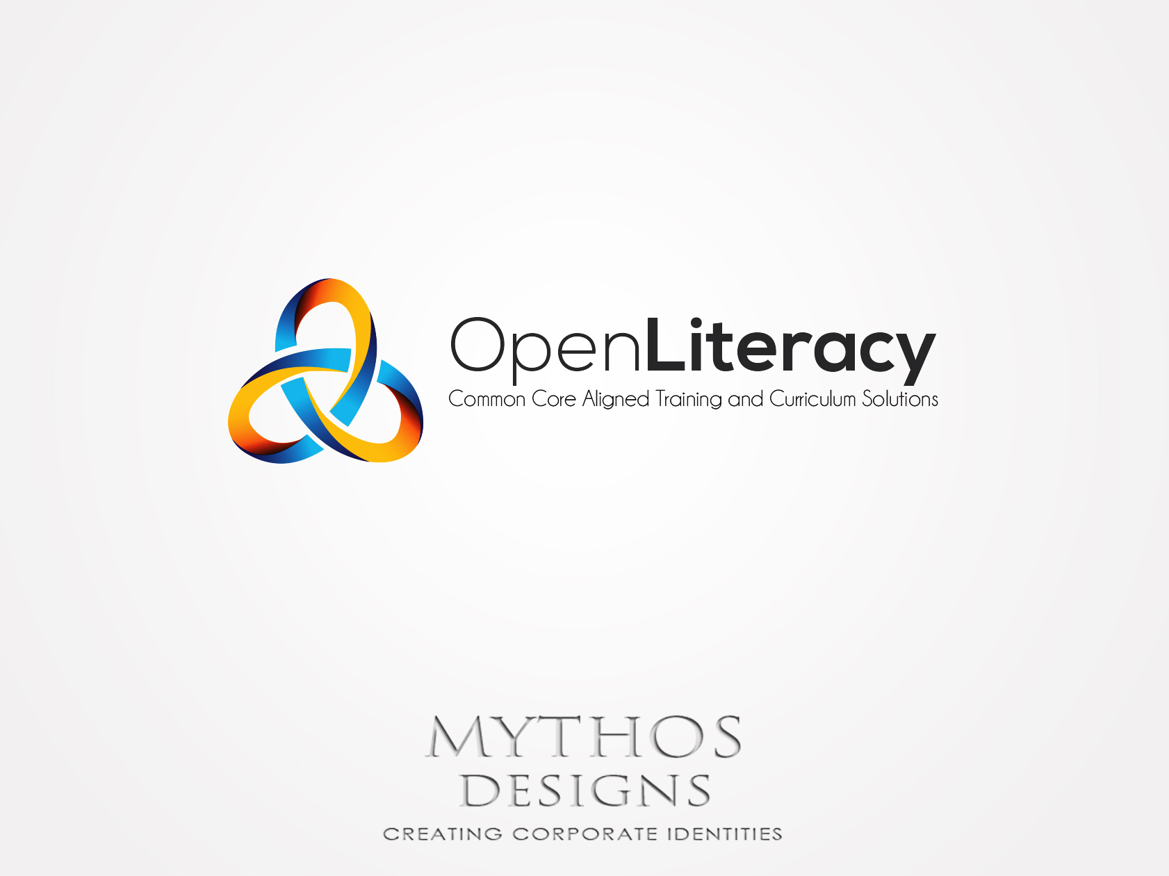 Logo Design by Mythos Designs - Entry No. 94 in the Logo Design Contest Inspiring Logo Design for OpenLiteracy.