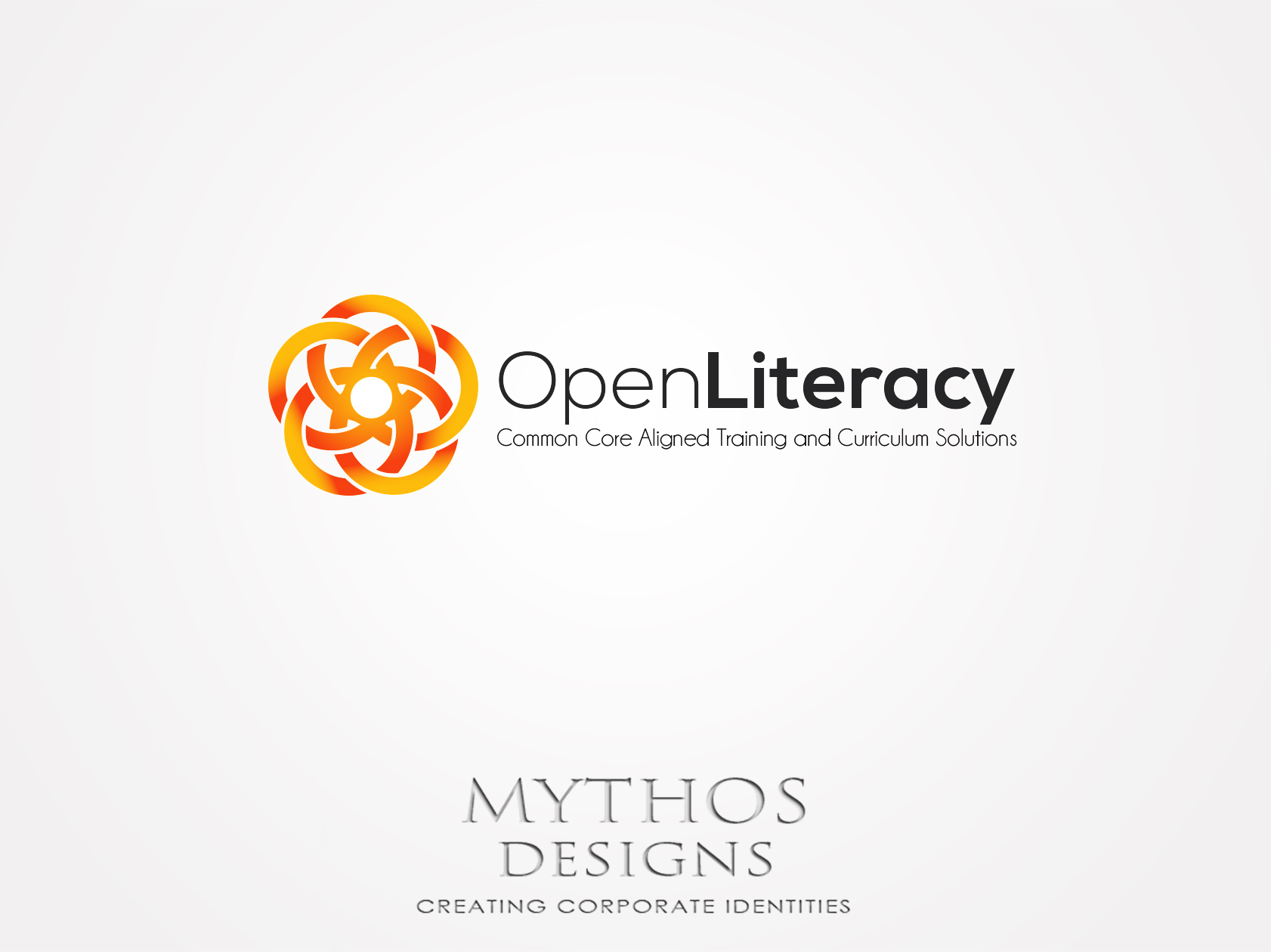 Logo Design by Mythos Designs - Entry No. 95 in the Logo Design Contest Inspiring Logo Design for OpenLiteracy.