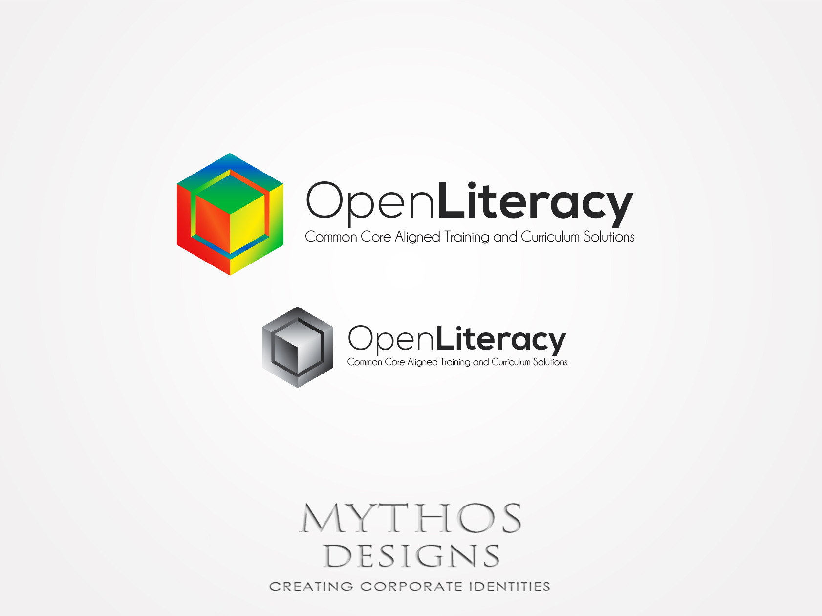 Logo Design by Mythos Designs - Entry No. 96 in the Logo Design Contest Inspiring Logo Design for OpenLiteracy.