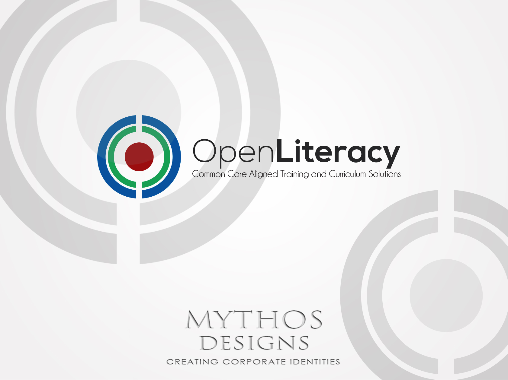 Logo Design by Mythos Designs - Entry No. 97 in the Logo Design Contest Inspiring Logo Design for OpenLiteracy.