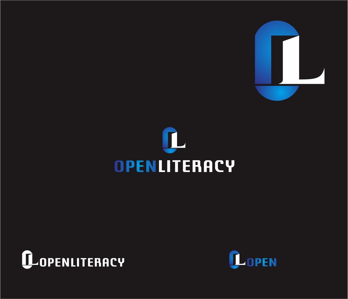 Logo Design by Armada Jamaluddin - Entry No. 98 in the Logo Design Contest Inspiring Logo Design for OpenLiteracy.