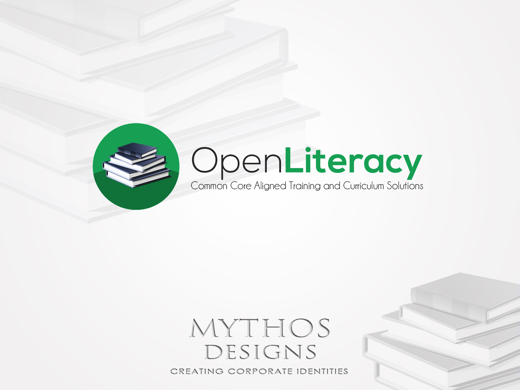 Logo Design by Mythos Designs - Entry No. 99 in the Logo Design Contest Inspiring Logo Design for OpenLiteracy.
