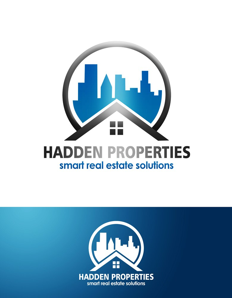 Logo Design by Respati Himawan - Entry No. 63 in the Logo Design Contest Artistic Logo Design for Hadden Properties.