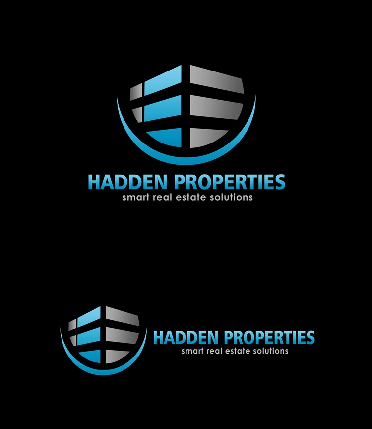 Logo Design by Respati Himawan - Entry No. 64 in the Logo Design Contest Artistic Logo Design for Hadden Properties.