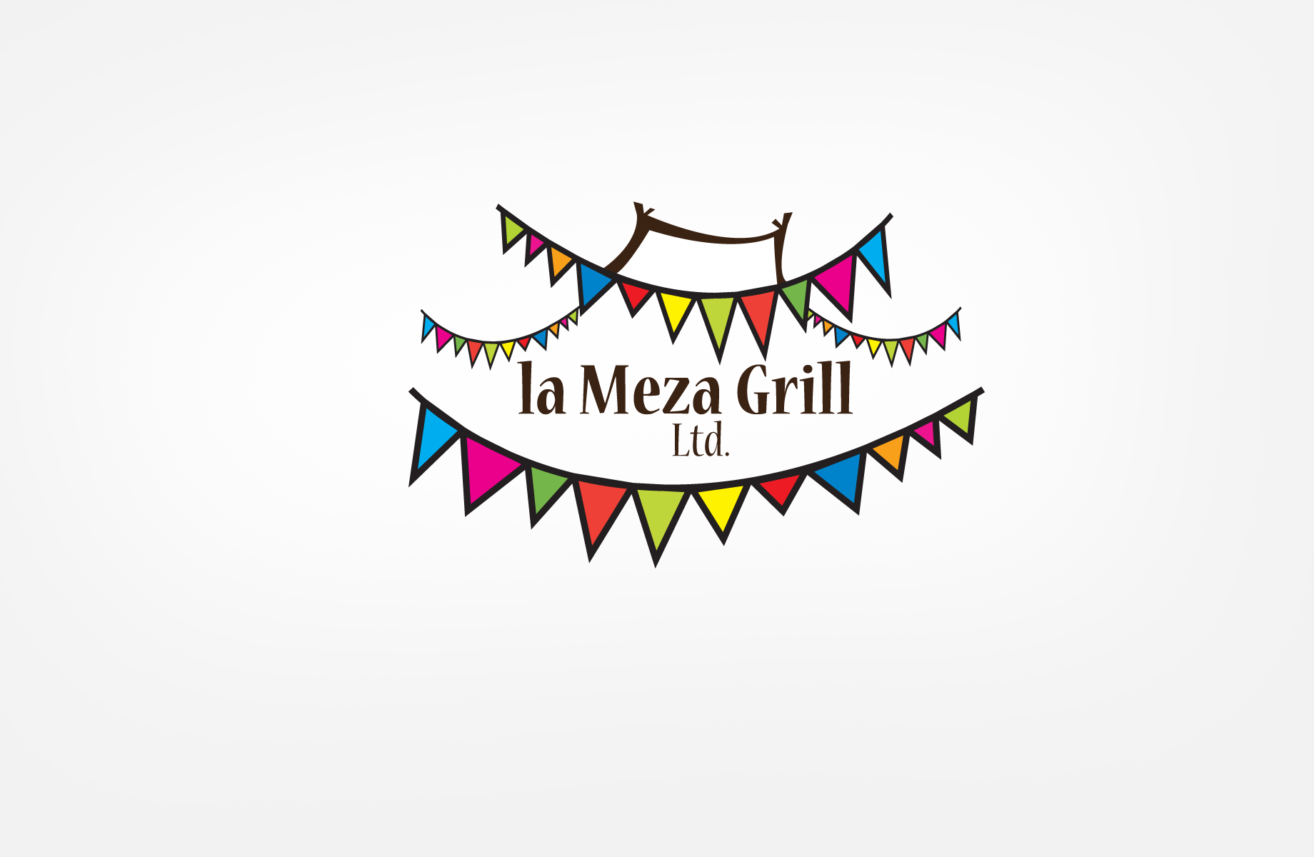 Logo Design by Jan Chua - Entry No. 36 in the Logo Design Contest Inspiring Logo Design for La Meza Grill Ltd..