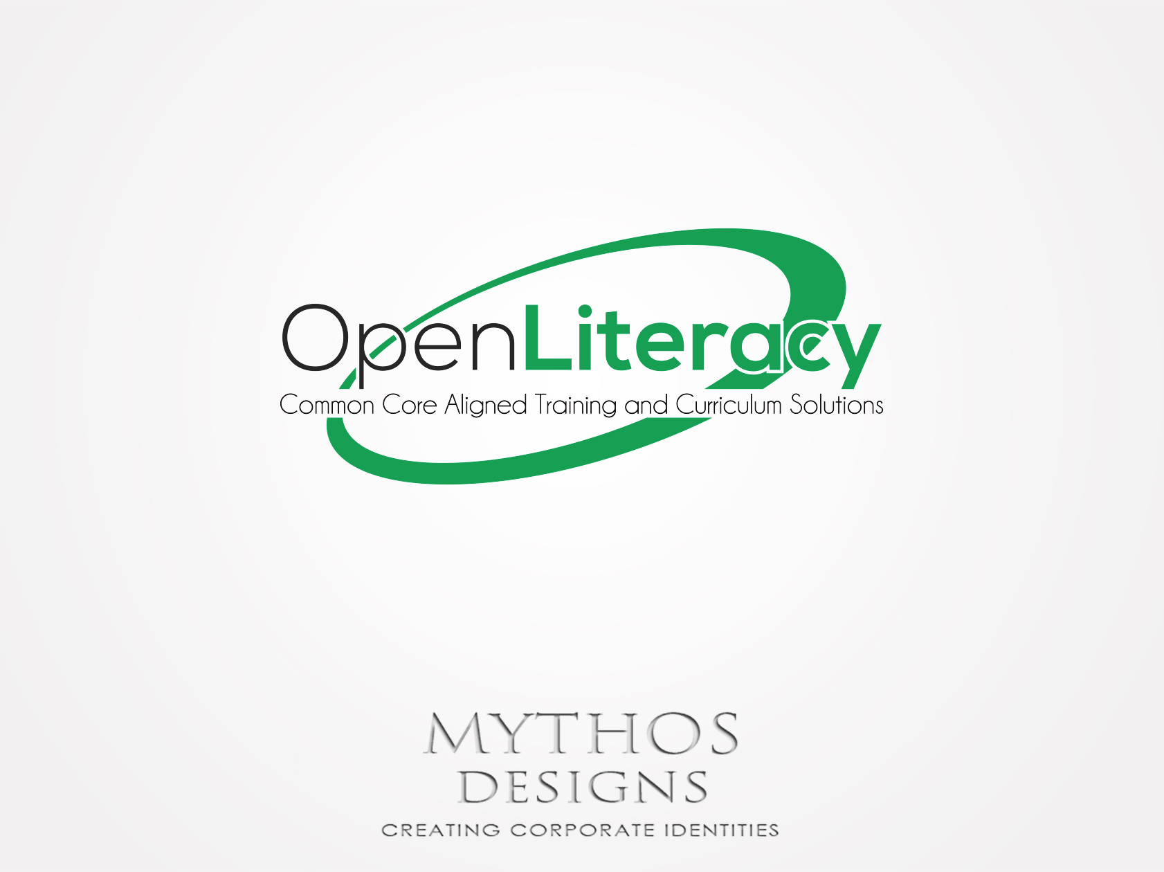 Logo Design by Mythos Designs - Entry No. 100 in the Logo Design Contest Inspiring Logo Design for OpenLiteracy.