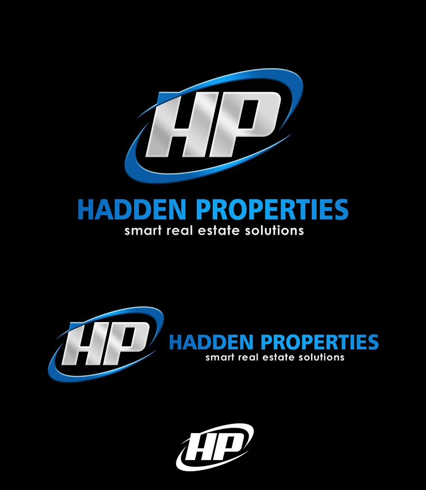 Logo Design by Respati Himawan - Entry No. 66 in the Logo Design Contest Artistic Logo Design for Hadden Properties.