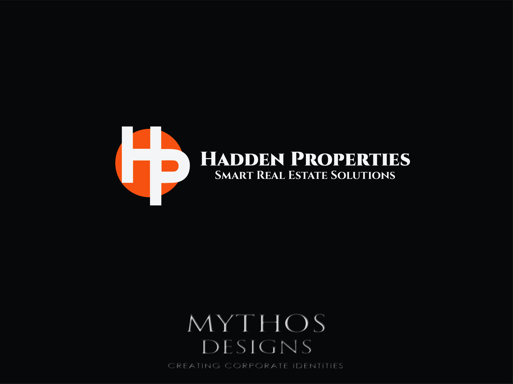 Logo Design by Mythos Designs - Entry No. 67 in the Logo Design Contest Artistic Logo Design for Hadden Properties.