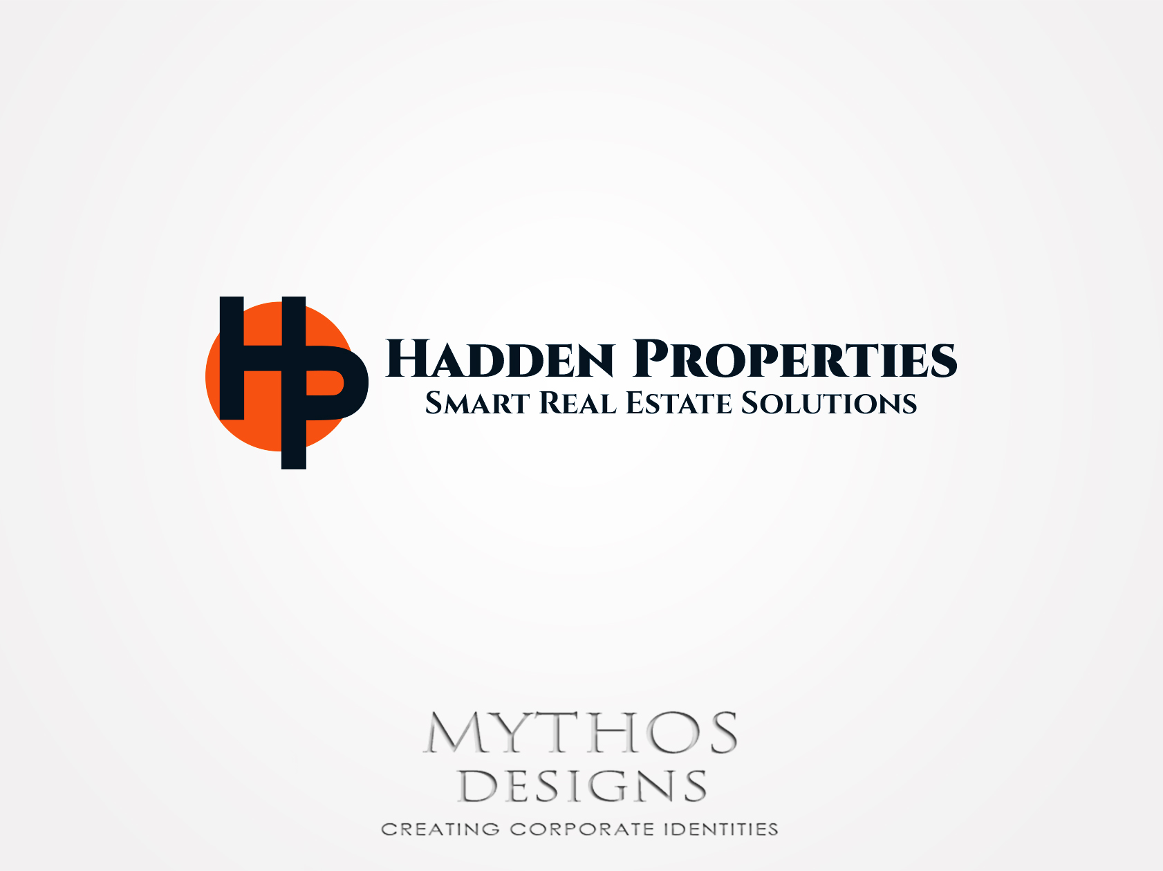 Logo Design by Mythos Designs - Entry No. 68 in the Logo Design Contest Artistic Logo Design for Hadden Properties.
