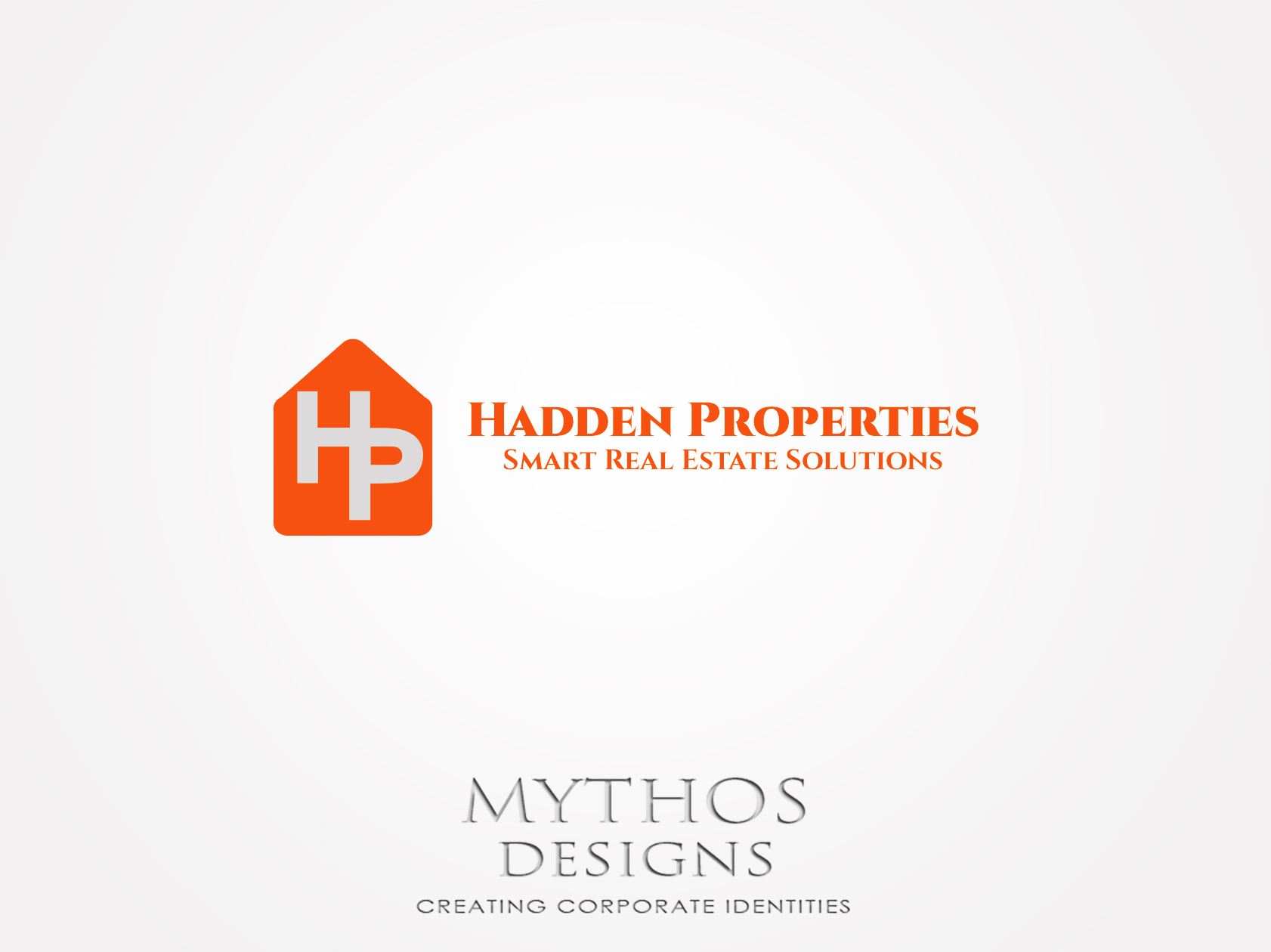 Logo Design by Mythos Designs - Entry No. 70 in the Logo Design Contest Artistic Logo Design for Hadden Properties.